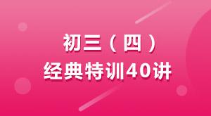 大智教育初三/四经典特训40讲